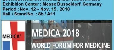 Attending Medica Exhibition 20…