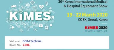 Attending KIMES 2020 in Seoul,…